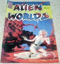 Alien Worlds 5, NM- (9.2), 1983 Bolton, Mayerik, Steacy, Buylla, Yeates!