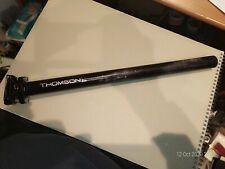 Thomson Elite Black Seatpost 27.2mm x 410mm - Used.
