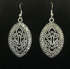 Earrings Vintage Silver Hippie Bohemian Ethnic Boho Tribal Gypsy A1069