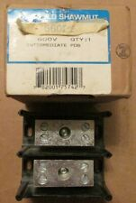 NEW NOS Gould Shawmut 66022 Power Distribution Block 2 Pole 600 Volts
