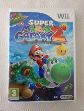 Super Mario Galaxy 2 - Nintendo WII - manque la notice