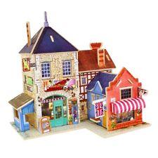 1/24 Diy Miniature Dollhouse With Furniture Kit - 3D Shop Life Scene Decor