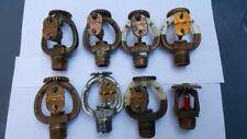 8 VIKING Antique Vintage Fire Sprinkler Head Collection