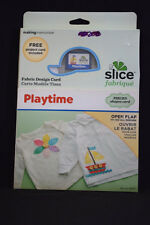 Slice Fabrique Playtime Fabric Design Card Making Memories Fire Truck Dino Fairy