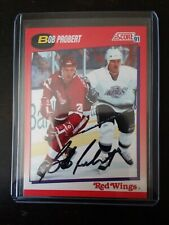 1991-92 Score Hockey Bob Probert Card