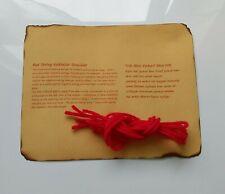 KABBALAH RED STRING BRACIALET  X5 Good Luck Protection tying instruction+Prayer