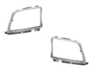 Mercedes r129 Headlight Doors L+R (x2) URO PARTS head lamp light frame trim rim