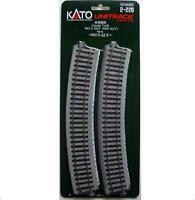 Kato 2-220 Rail Courbe / Curve Track R610 22.5° 4pcs - HO