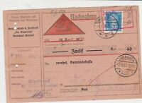 germany 1927  stamps card ref 18954