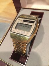 Seiko A156 Solar Powered Orologio Digitale 1980s Retrò