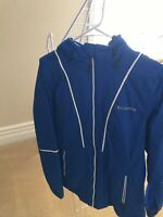 Columbia Women Size Small Jacket Coat Blue LIKENEW