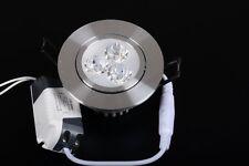 SAT FARETTO DA INCASSO LED 3w BIANCO NEUTRO 3x1w LUCE 220v 230v