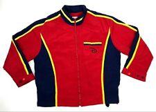 Disneyland Cast Member Uniform Parking Jacket Size XlUnisex Red Pocket Employee