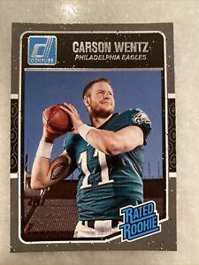 Carson Wentz Donruss Rated Rookie