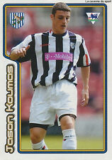 N°551 JASON KOUMAS WALES WEST BROMWICH ALBION STICKER MERLIN PREMIER LEAGUE 2005