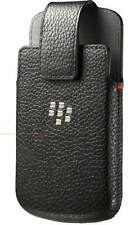 GENUINE Blackberry Q10 Leather Swivel Holster Case Cover ACC-50879-201 - Black