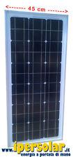 Pannello fotovoltaico 60 Watt - 12 V MONO   *Larghezza 45 cm*