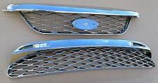 Ford Falcon BF XR XR6 XR8 turbo front bumper bar GRILLES upper and lower CHROME