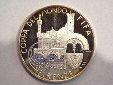 Medaglia in argento stadio comunale di Firenze mondiali di calcio 1990