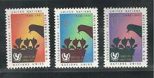 UNITED NATIONS, NEW YORK #  97-99 1961 CHILDREN'S FUND, UNICEF