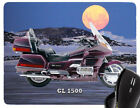 Tapis De Souris Avec Moto motif: HONDA modèle REPOSE-POIGNETS BIKE