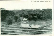 Mammoth Springs, AR The U.S. Fish Farm