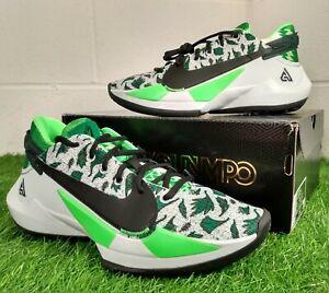 Nike Zoom Freak 2 Naija Green Sport Basketball Shoes UK 7 EU 41 DA0907-002 Shoes