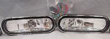 UNIVERSAL 12V H3 55W FOG LIGHTS DRIVING LAMPS HARNESS SET PAIR CIVIC ACCORD