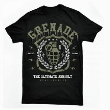 Grenade Ultimate Tee Mens Big and Tall Graphic T Shirt Pro Club Short Sleeve