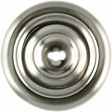 FURNITURE Hardware Knob Backplate Satin Nickel Large 2
