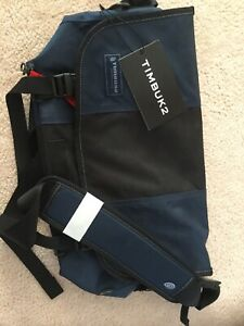 (Brand New with Tags)Timbuk 2 Messenger Bag Navy Blue/Black Cordura Design M
