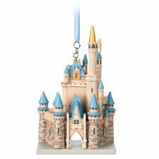 Disney World Cinderella Castle Sculptured Ornament, NEW