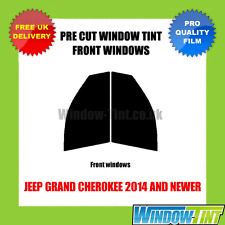 JEEP GRAND CHEROKEE 2014+ FRONT PRE CUT WINDOW TINT