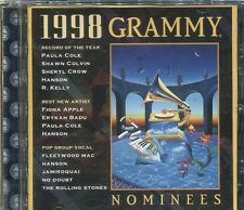 1998 GRAMMY NOMINATIONS - VARIOUS ARTISTS - CD