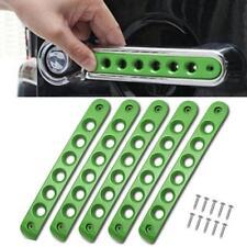Green Jeep 4Door Grab Handle Bar Moulding Cover Trim For 07-17 Jeep Wrangler JK