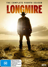 Longmire: Season 4  - DVD - NEW Region 4