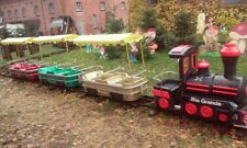 Kindereisenbahn, Fahrgeschäft, Schausteller