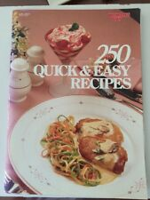 250 Quick & Easy Recipes Woman's Day Cookbook - Cooking for Different Occasions