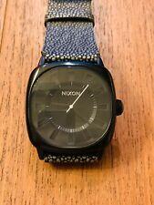 Orologio Watch Uhren Nixon The Revolver Black Quarzo Nuovo