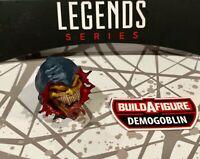 DEMOGOBLIN BAF Head - Marvel Legends Goblin Spider-Man Green -SHIPS FAST!