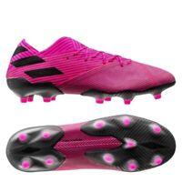 Adidas Nemeziz 19.1 Fg J Kids Firm Ground Soccer Cleats Shock Pink//Black F99956