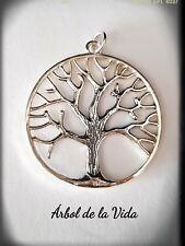 COLGANTE ARBOL DE LA VIDA PLATA DE LEY TREE OF LIFE SILVER