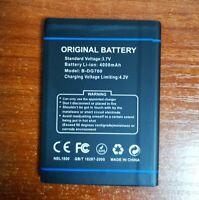 Doogee DG700 4000mAh B-DG700 Battery For Doogee TITANS2 DG700 Phone Warranty