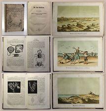 Riefkohl Die Insel Norderney 1861 Ortskunde Niedersachsen mit Farblithografien