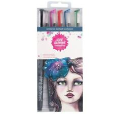 American Crafts Jane Davenport Mermaid Markers SHIPWRECKED S/6 320741 NEW!