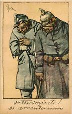 WW1 WWI Propaganda - Sacchetti - Prestito Nazionale - Si Arrenderanno - VP020