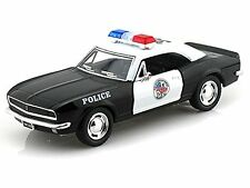 "New 5"" Kinsmart 1967 Chevrolet Camaro Z/28 Police Car Diecast Model 1:37 Chevy"