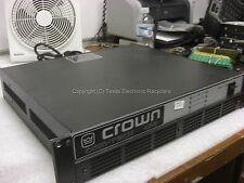 Crown com-tech 400 200w amplifier w/ crown p.i.p.-bb 2 channels balanced input