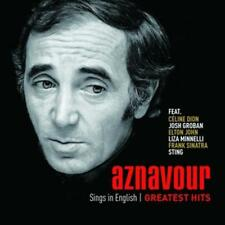 Aznavour sings in English - The official Greatest Hits - CD NEU