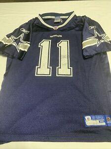 Dallas Cowboys Drew Bledsoe Jersey NFL official Reebok XL 18-20 extra large